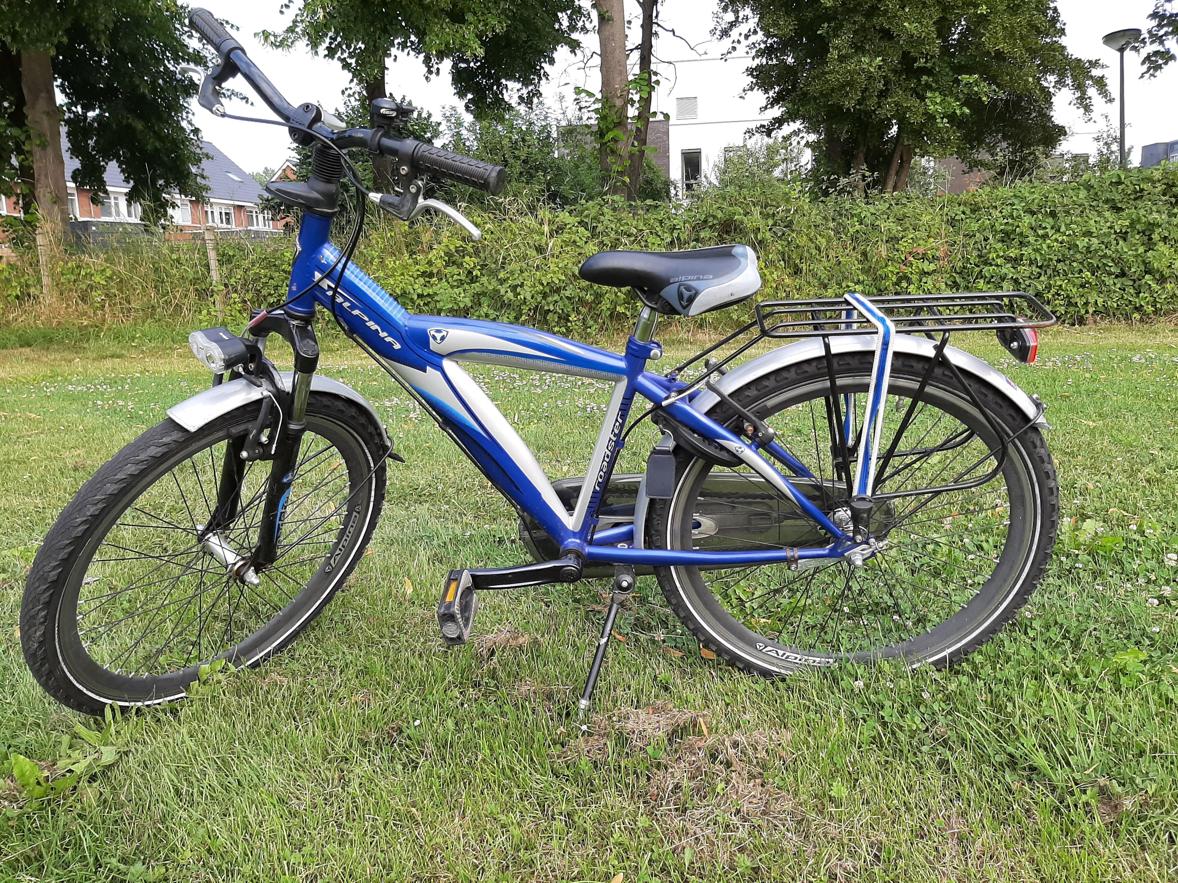 Alphina jongens fiets VERKOCHT
